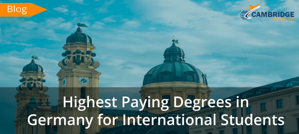 Highest Paying Degrees in Germany